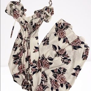 BRAND NEW WITH TAGS White Floral Dress